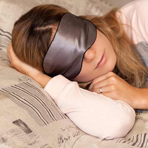 Sleep Fountain Anti Aging Silk Mask